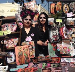 Olvera Street Muertos Artwalk