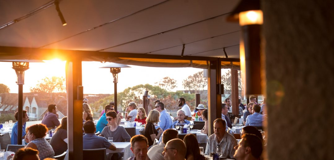 Pacifica Del Mar offer's a classic SoCal Thanksgiving: a delicious feast with views of the ocean.