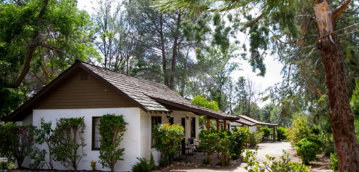 Travel into San Diego's past by staying in a renovated historic cottage in Warner Springs.