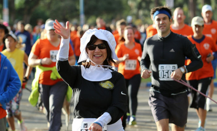 Lace up your sneakers for San Diego's original turkey trot: Father Joe's Villages' Thanksgiving Day 5K.