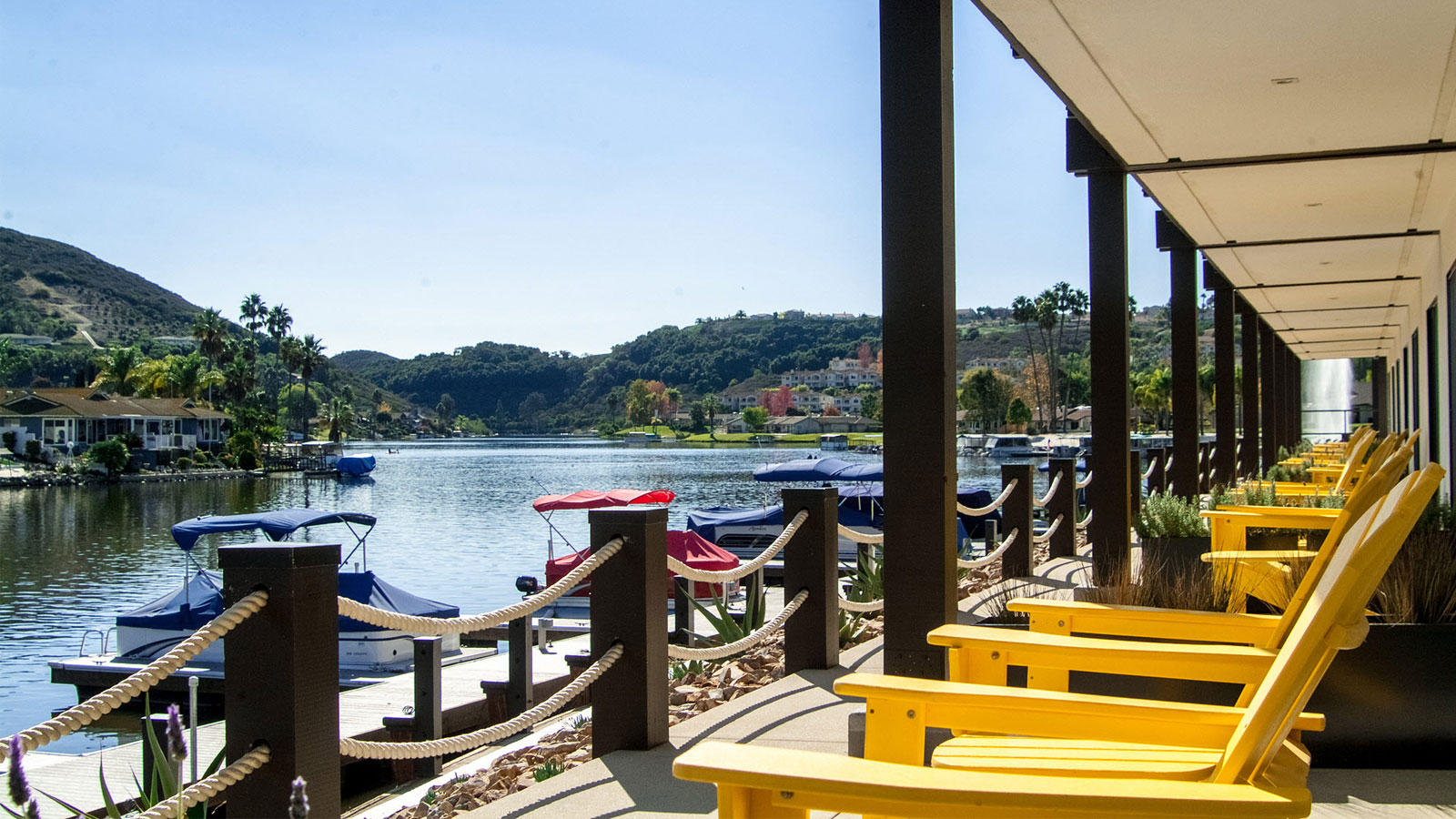Check into a private cottage nestled on the water's edge at Lakehouse Hotel & Resort.