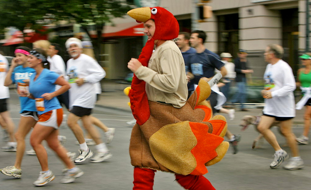 Kick off your Thanksgiving with a healthy start at the Waddle and Trot 5K.