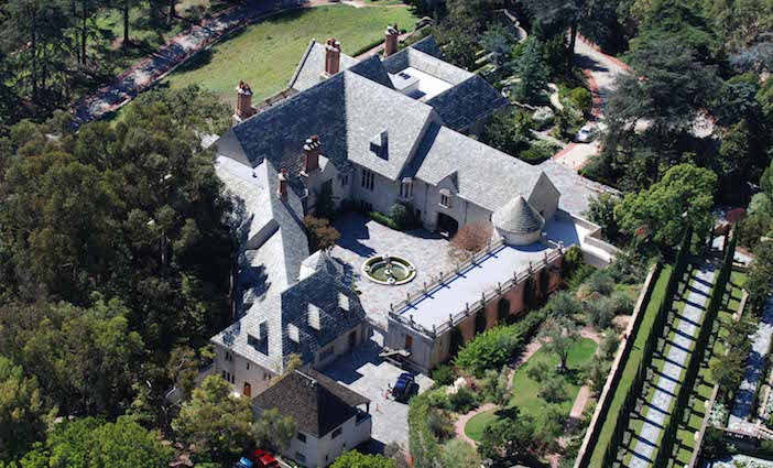 Greystone Mansion courtesy the City of Beverly Hills