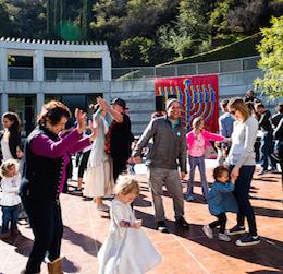 Hanukkah Festival: LA/LA photo by Mercie Ghimire