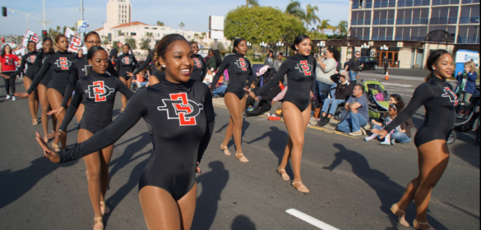 Celebrate MLK with a parade on San Diego Bay.