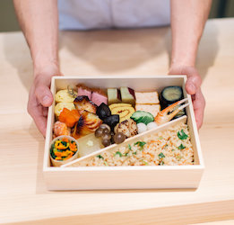 Bento Boxes at Hayato
