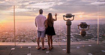 Los Angeles Date Night at Skyspace LA