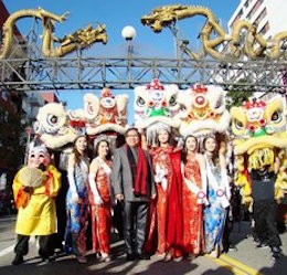 The 119th Annual Golden Dragon Parade and Chinese New Year Festival