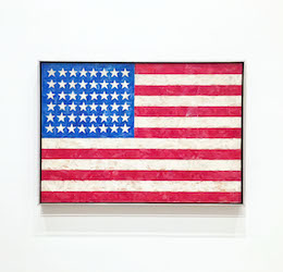 Jasper Johns at The Broad