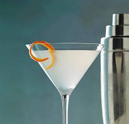 Vive Le Vodka Martini with Grey Goose