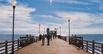 Oceanside Pier photo by Trevor Dyck