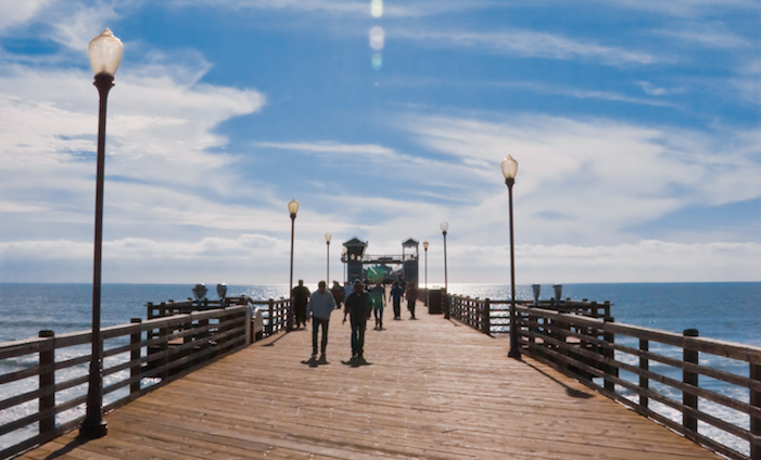 Oceanside Pier photo by Trevor Dyck