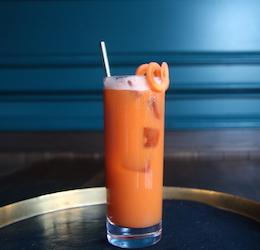 Train Travel-Inspired Cocktail Menu