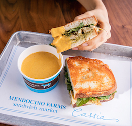 Mendocino Farms x Cassia