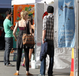 Art Festival in Downtown Burbank