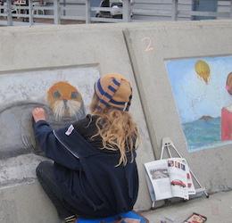 Earth Day Chalk Art Challenge photo courtesy of Visit Redondo