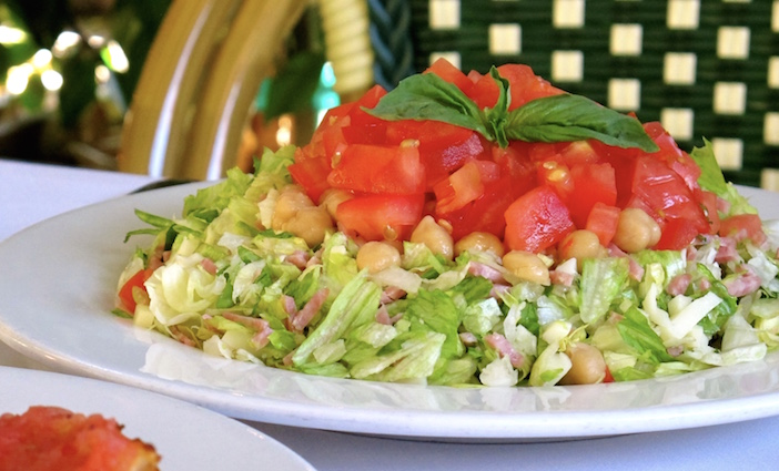 Chopped Salad | Legendary Dishes and Cocktails