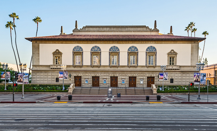 Civic Auditorium photo courtesy of Visit Pasadena | Performing Arts Venues in Pasadena