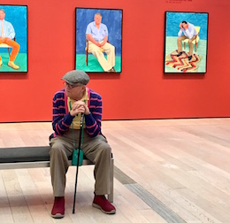 """David Hockney: 82 Portraits and 1 Still-life"""