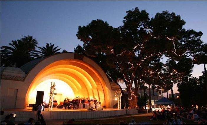 Levitt Pavilion photo courtesy of Visit Pasadena