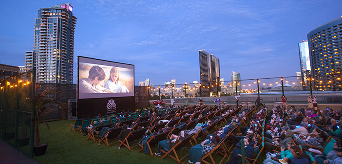 Rooftop Cinema Club Returns to San Diego