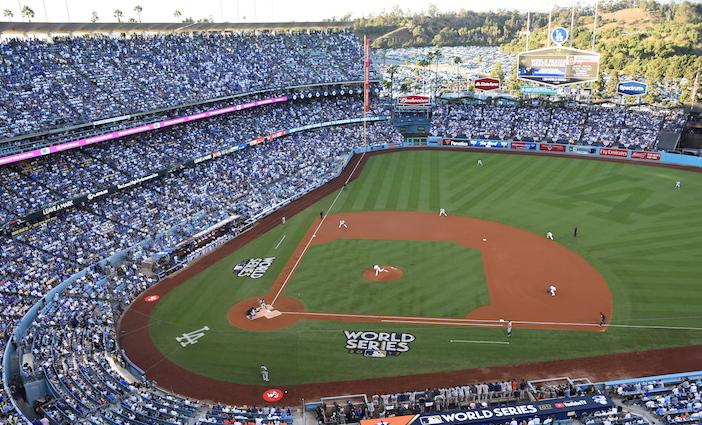2017 World Series Game 1 at Dodger Stadium.
