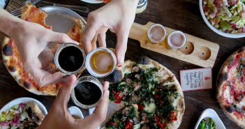 Brewery Dinner at Pitfire Pizza
