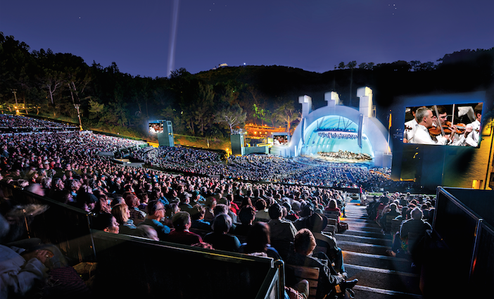 Hollywood Bowl photo courtesy of the L.A. Phil | Los Angeles things to do in June