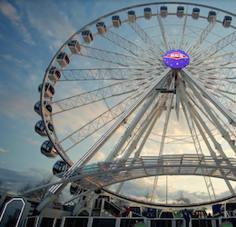 New Observation Wheel at the Queen Mary