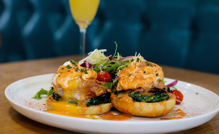 Roe Seafood Benedict