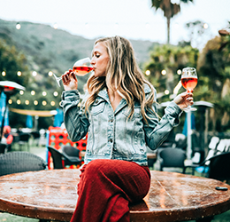 Rosé Soiree photo by Justin Aikin on Unsplash