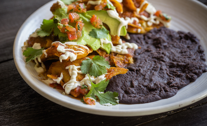 Chilaquiles at Gracias Madre photo redit Eric Wolfinger