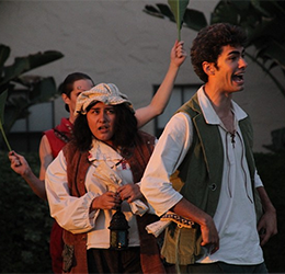"""A Midsummer Night's Dream"" at Casa Theater photo provided by Casa Romantica Cultural Center and Gardens"
