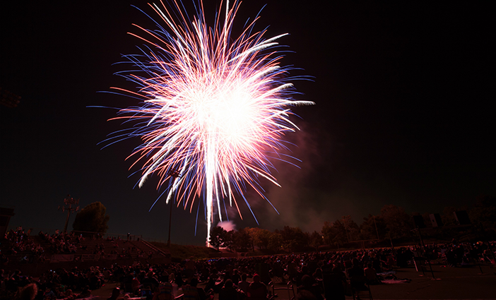 Concert on the Green and Fireworks Festival photo by Irvine Police Association