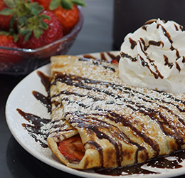 Bastille Day at Crepes Bonaparte photo provided by Ajenda PR