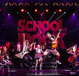 """""""School of Rock"""" photo by Matthew Murphy"""