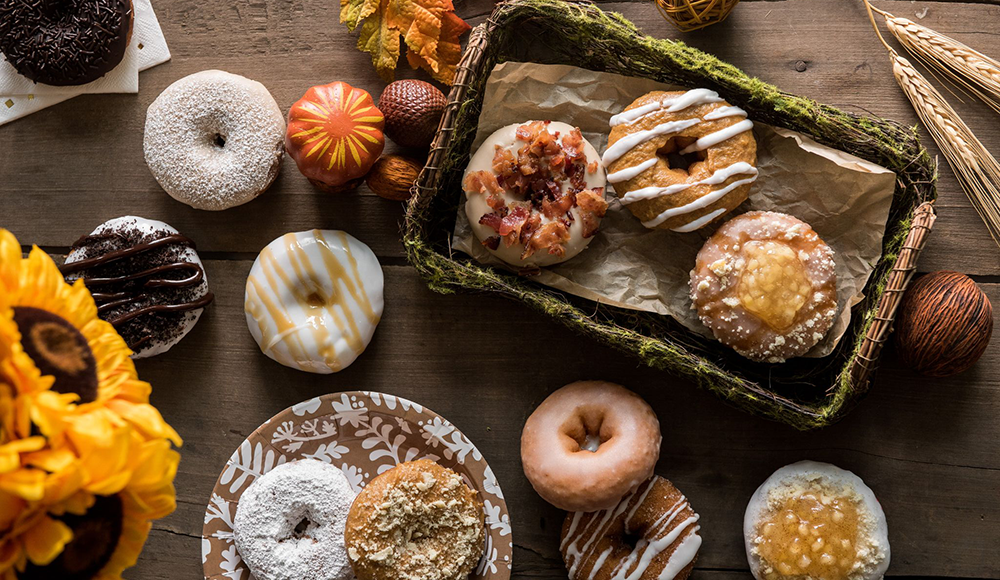 New Seasonal Flavors at Duck Donuts photo courtesy of Duck Donuts