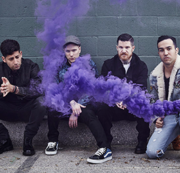 Fall Out Boy photo courtesy of Fall Out Boy/website