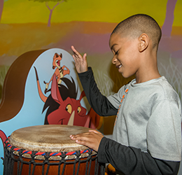 """""""The Lion Guard: The Exhibit"""" at Discovery Cube photo courtesy of Discovery Science Foundation"""