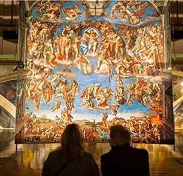 Michelangelo's-Sistine-Chapel-The-Exhibition