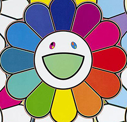 Artwork: 'Flowerball-Want to Hold You' by Takashi Murakami