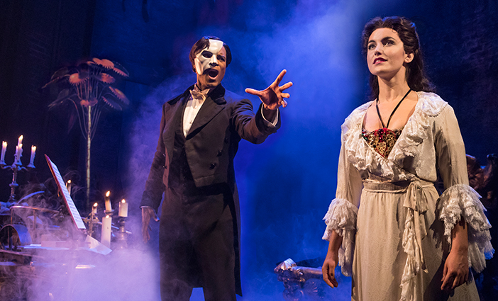 """The Phantom of the Opera"" photo by Matthew Murphy"