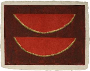 """Rufino Tamayo, """"Sandias,"""" 1980 © 2019 Tamayo Heirs / Mexico / Licensed by VAGA at Artists Rights Society (ARS), NY"""