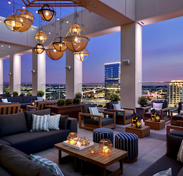 Hive & Honey Rooftop photo courtesy Marriott Irvine Spectrum