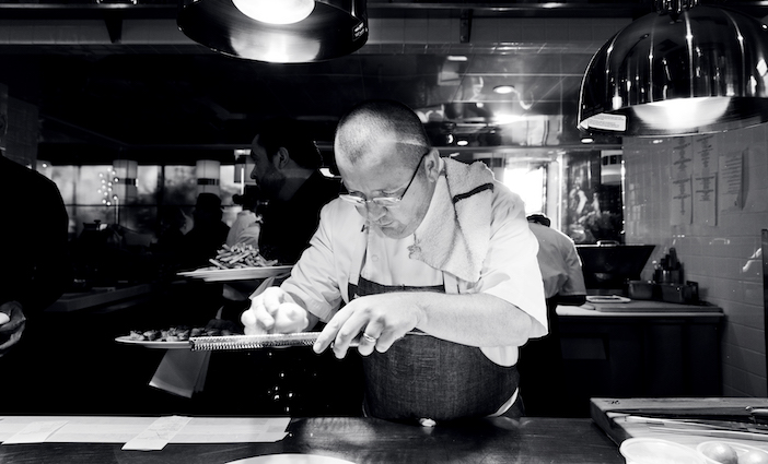 Chef Florent of Marché Moderne photo courtesy DYLAN+JENI