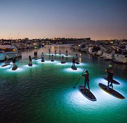 Pirate Coast SUP Glow Tours