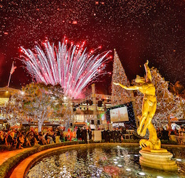 The Americana at Brand's Christmas Spectacular