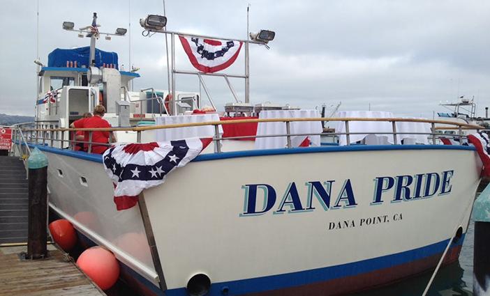 Dinner and Fireworks Cruise with Dana Wharf Sportfishing photo by Dana Wharf Wahle Watching and Sportfishing