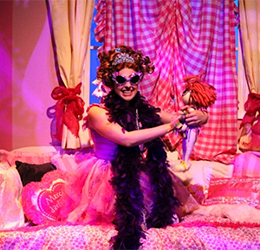 """""""Fancy Nancy, The Musical"""" photo courtesy Chance Theater"""