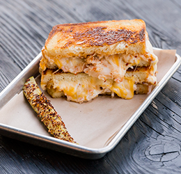 Grater Grilled Cheese photo courtesy of Ashley Graham